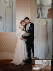 Brautkleid mit Bolero (