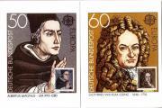 Briefmarken Maximumkarten: Leibnitz +