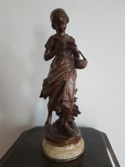 Bronze Skulptur Mathurin