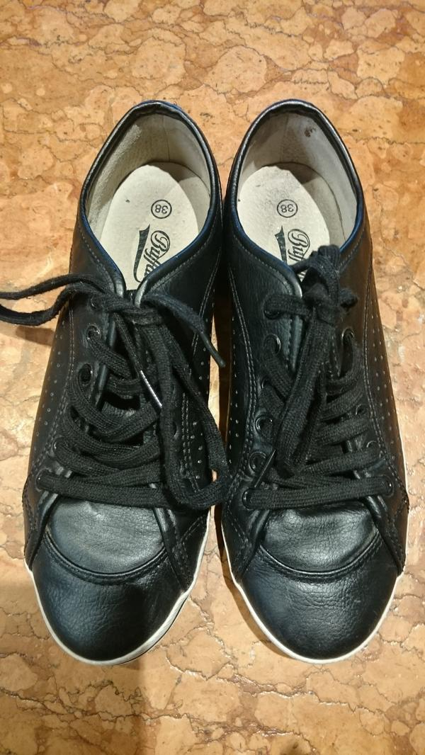 detailed look 8490e 61d5b Buffalo Sneakers Damen schwarz Größe 38, 2x getragen in ...