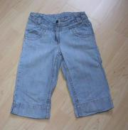 C&A Mädchen Capri Jeans Hose Palomino Kinder Jeanshose Caprihose Kinderjeans blau Gr. 122 NEU gebraucht kaufen  Sonneberg