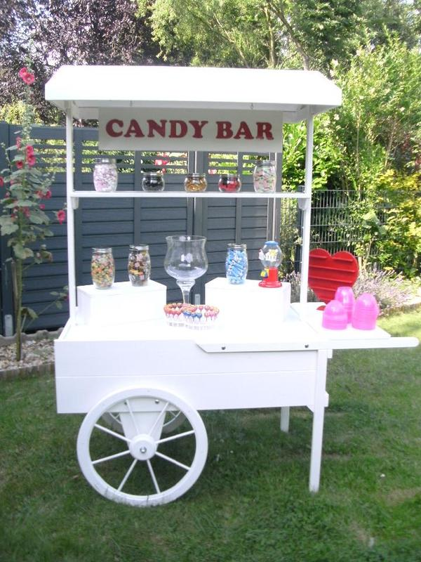 candycart candywagen candybar zum verleihen in bochum alles f r die hochzeit kaufen und. Black Bedroom Furniture Sets. Home Design Ideas