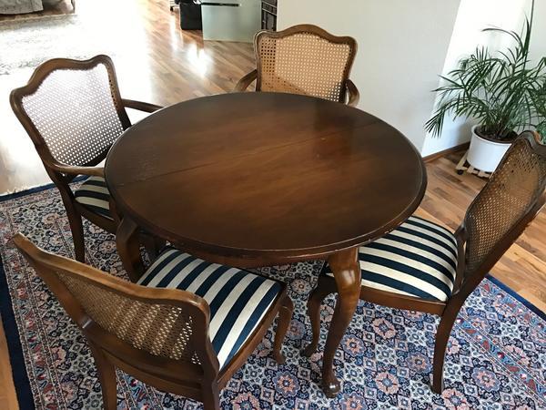 chippendale esszimmer tisch + stühle in heppenheim - stilmöbel, Esszimmer dekoo