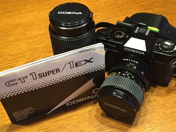 COSINA Spiegelreflexkamera mit » Foto und Zubehör