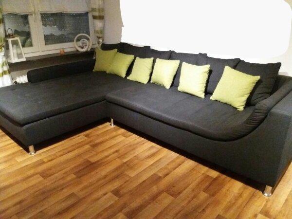 wohnlandschaft couch gebraucht kaufen nur 2 st bis 65 g nstiger. Black Bedroom Furniture Sets. Home Design Ideas