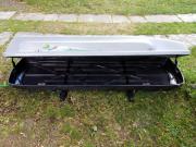 riesige dachbox xxl dazu thule dachtr ger geschenkt in. Black Bedroom Furniture Sets. Home Design Ideas