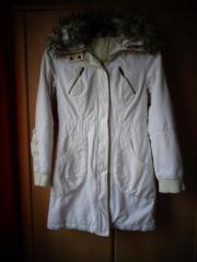 Damen - Mantel Kurzmantel Longjacke mit