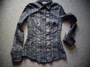 Damenbekleidung Bluse Langarm Gr 36