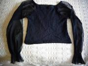 Damenbekleidung Kurz-Bluse Schlupfbluse ca Gr