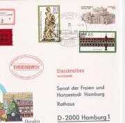 DDR-Gedenkbrief zum 800-jährigen Bestehen des