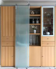 Design-Wohnwand mit