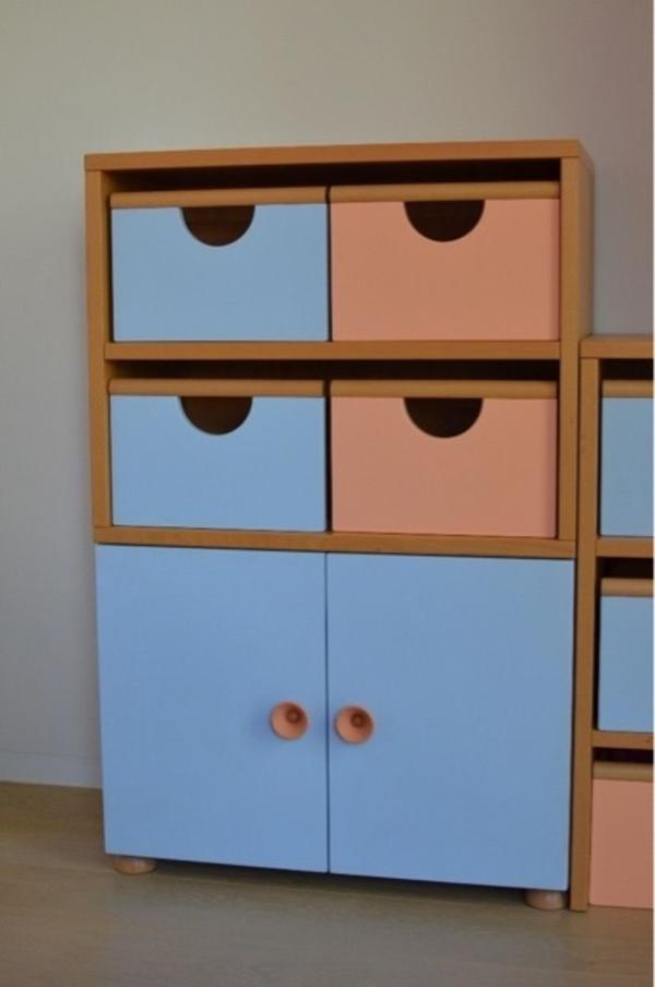kleiderschrank kinderzimmer gebraucht kaufen nur 3 st. Black Bedroom Furniture Sets. Home Design Ideas