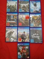 diverse Playstation 4