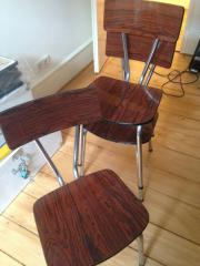 Drei Stühle, Retro,