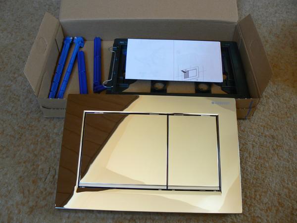 dr ckerplatte bet tigungsplatte geberit omega 30 neu in. Black Bedroom Furniture Sets. Home Design Ideas