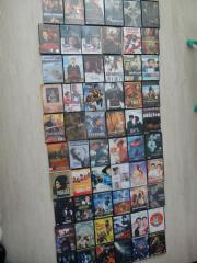DVD Filme 105 Stück auf