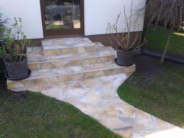 Echte natursteine polygonalplatten in bremen sonstiges f r den garten balkon terrasse - Natursteine fur garten ...