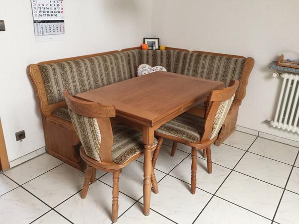 eckbank mit tisch ankauf und verkauf anzeigen billiger preis. Black Bedroom Furniture Sets. Home Design Ideas
