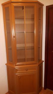 eckvitrine glas haushalt m bel gebraucht und neu kaufen. Black Bedroom Furniture Sets. Home Design Ideas