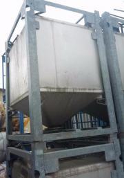 Edelstahl Behälter Tank