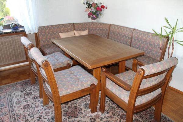 sitzgruppe eiche neu und gebraucht kaufen bei. Black Bedroom Furniture Sets. Home Design Ideas