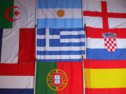 Fahne Flagge Holzstab