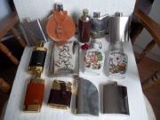 Flachmänner-Sammlung 13 Stück diverse Modelle