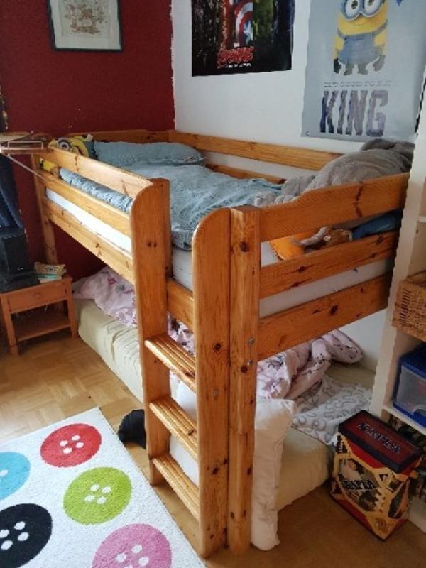 treppe hochbett kleinanzeigen familie haus garten. Black Bedroom Furniture Sets. Home Design Ideas