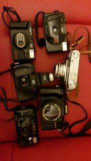 Fotoapparaten Konvolut gebraucht