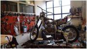für Umschulungsprojekt älteres funktionstüchtiges Motorrad
