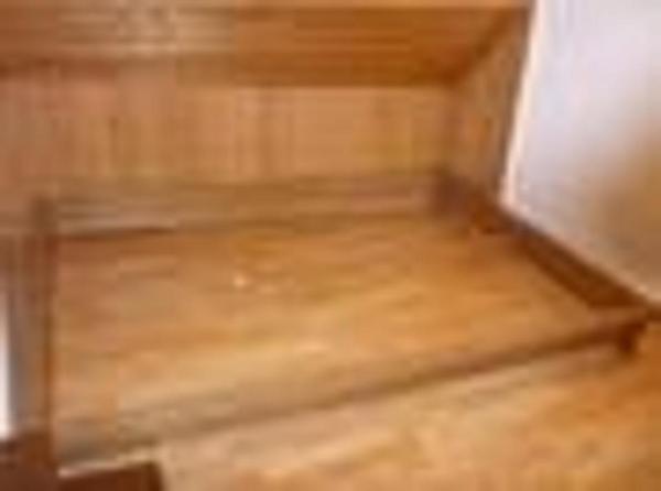 Futon Bett massiv Holz NEU