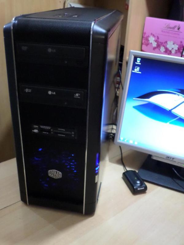 Gaming PC Phenom II X6x 2, 8 Ghz, 12 GB, GeF GTX760-2GB, 2 TB, HDMI, 2xDVI, W-Lan, DVD/RW - Wuppertal Elberfeld - Gaming PC Phenom II X6 Six Core 6 x 2,8GHZ( AMD Phenom II X6 1055T CPU Socket AM3 (HDT155TFBK6DG), Gehäuse Orig. COOLER MESTER, Mainboard Gigabyte, 12 GB DDR 3 Ram, 2000GB HDD (Hitachi Festplatte),NVidia GeForce GTX 760 (2 GB ),2x H - Wuppertal Elberfeld