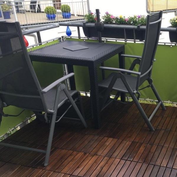 garten balkonm bel set in ettlingen gartenm bel kaufen und verkaufen ber private kleinanzeigen. Black Bedroom Furniture Sets. Home Design Ideas