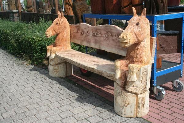 gartenbank pferde in landscheid gartenm bel kaufen und. Black Bedroom Furniture Sets. Home Design Ideas