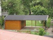 Gartenhaus - Blockhaus mit