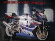 Gebrauchte Motorrad-Poster ca DIN-A2 Mömu-Suzuki