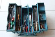 Gebrauchter Werkzeugkasten mit