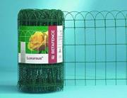 gebrauchtes Ziergeflecht Grün