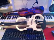 Geiger. Violinist