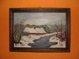 Kunst, Gemälde, Plastik - Gemälde rus Herkunft sehr alt