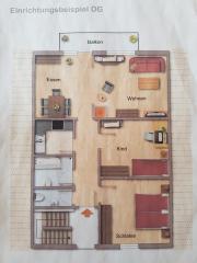 Gemütliche Dachgeschosswohnung sucht
