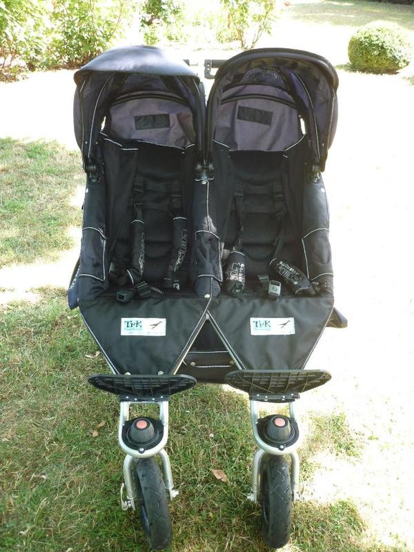 Zwillingskinderwagen tfk  Geschwister-/Zwillingskinderwagen TFK Twinner Twist in blau in ...