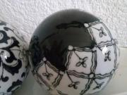 Glasschale Obstschale Kapselhalter