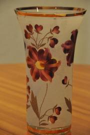 Glasvase in schönem Design Porzellan