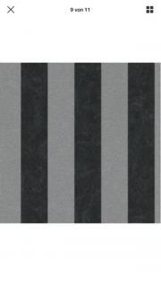 Glitzer Tapete Silber