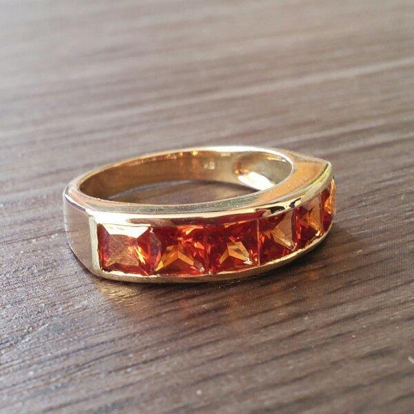 Modeschmuck gold ring  Gold Ring (Modeschmuck) in Bad Friedrichshall - Schmuck, Brillen ...
