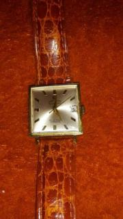 Goldene-Uhr 585 GG Automatik Super