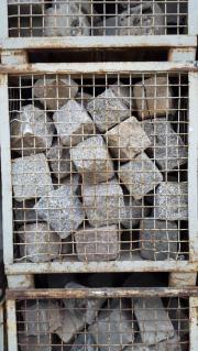Granit Pflastersteine Kopfsteinpflaster groß ca
