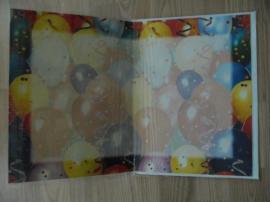 Tickets / Eintrittskarten - Groß Geburtstagkarte 22x30cm Party Feier