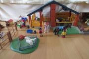 Großes Playmobil Reiterhof/